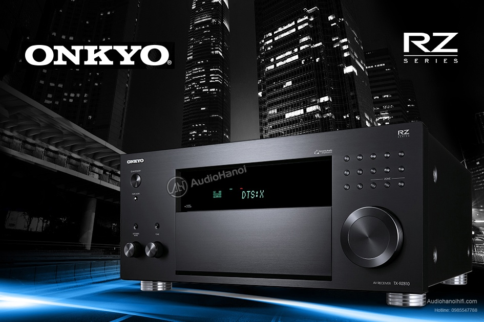 Ampli Onkyo TX-RZ810 chat luong