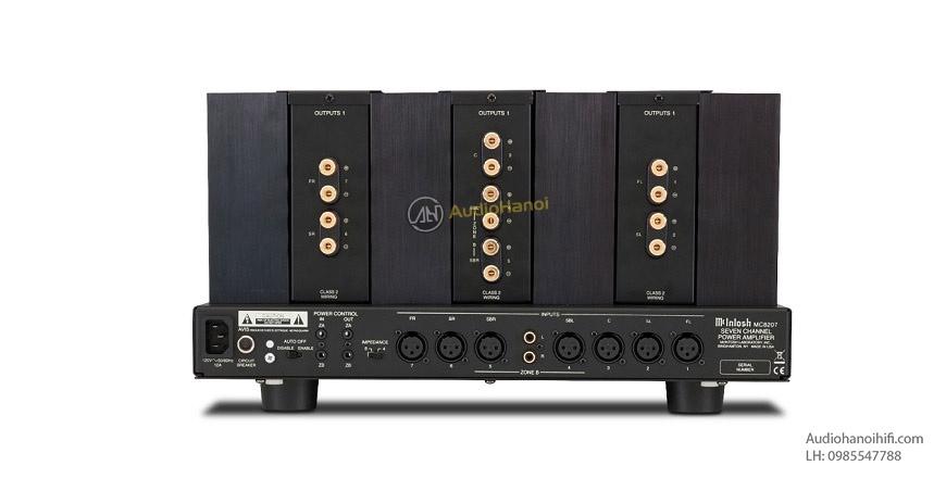 Power ampli McIntosh MC8207 dep