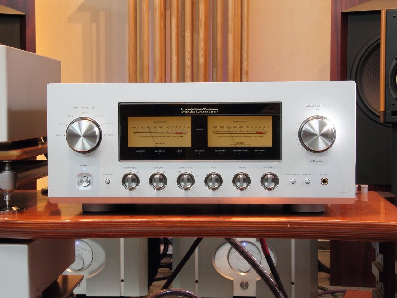 Ampli Luxman L-590AX