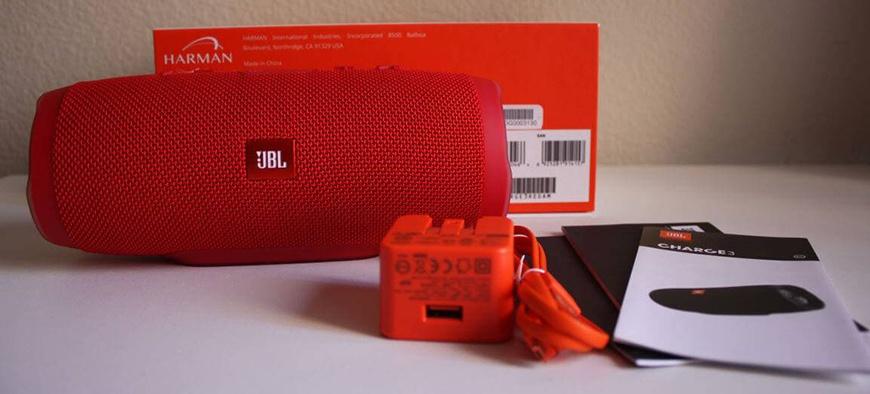 Loa JBL Charge 3 red