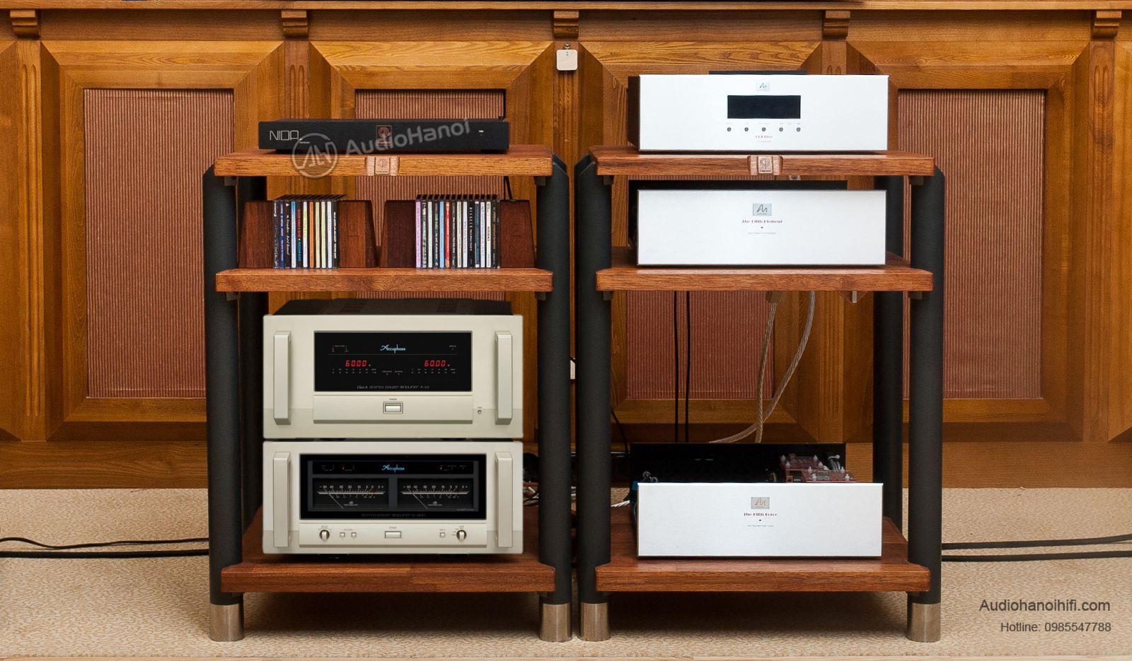 power ampli Accuphase P-6100 chuan