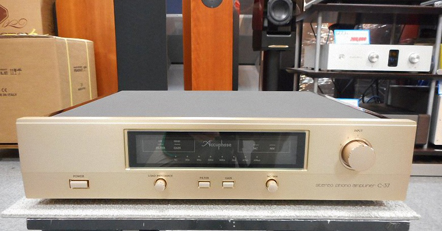Pre Amply Accuphase C-37 tot