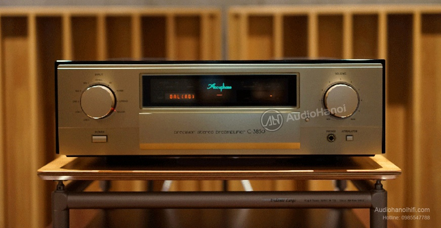 Pre ampli Accuphase C-3850 chat
