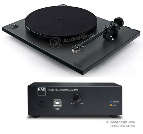 Pre ampli NAD PP-4 Digital Phono USB ket noi