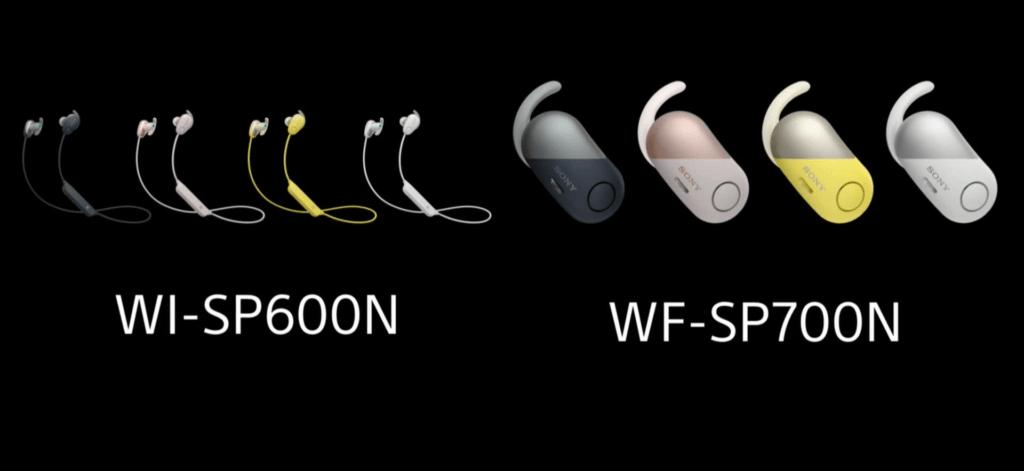 Tai nghe WF-SP700N va WI-SP600N