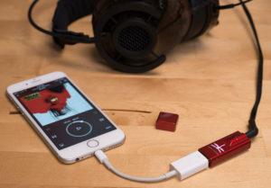 USB DAC AudioQuest DragonFly tot