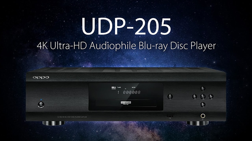 dau Bluray Oppo UDP-205 tot