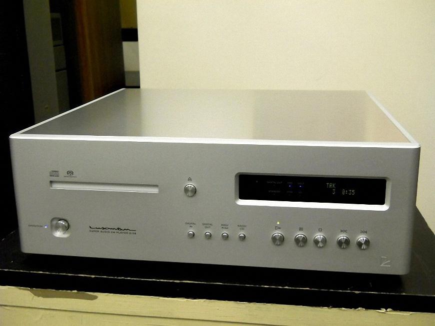 dau SACD/CD Luxman D-08