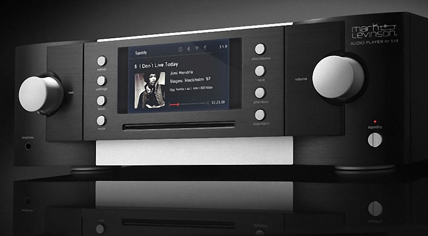 dau CD Mark Levinson № 519 dep