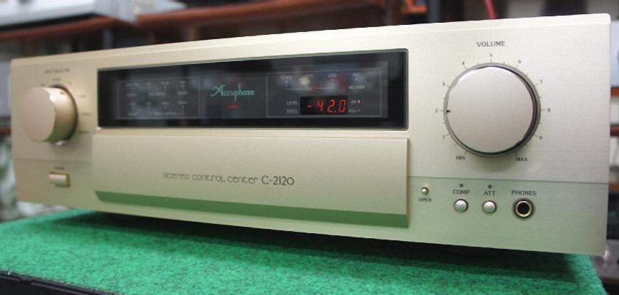 Pre ampli Accuphase C-2120