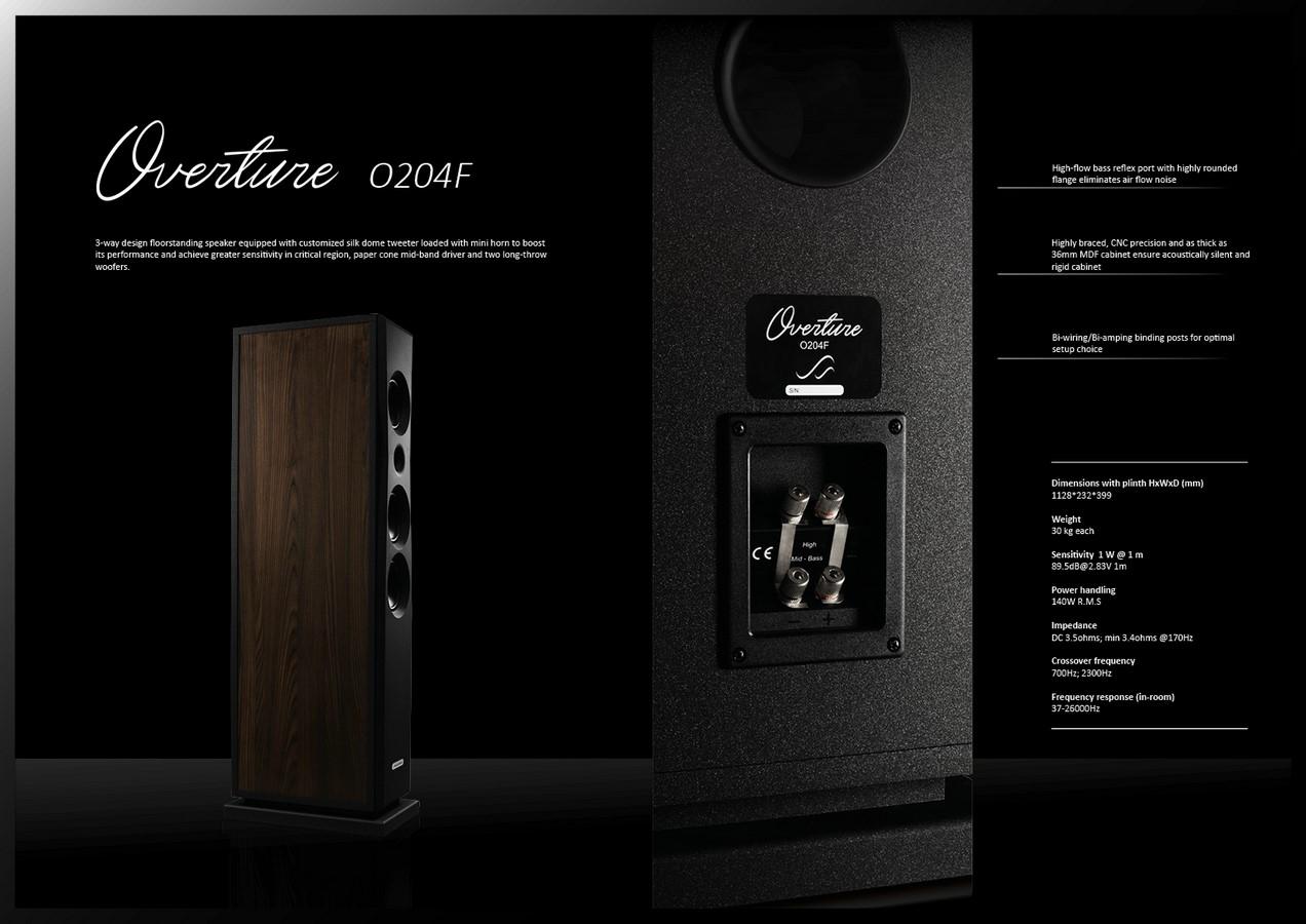 Loa Audio Solutions Overture O204Ftot
