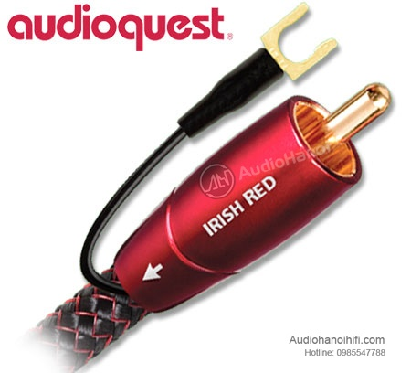 day tin hieu AudioQuest Irish Red