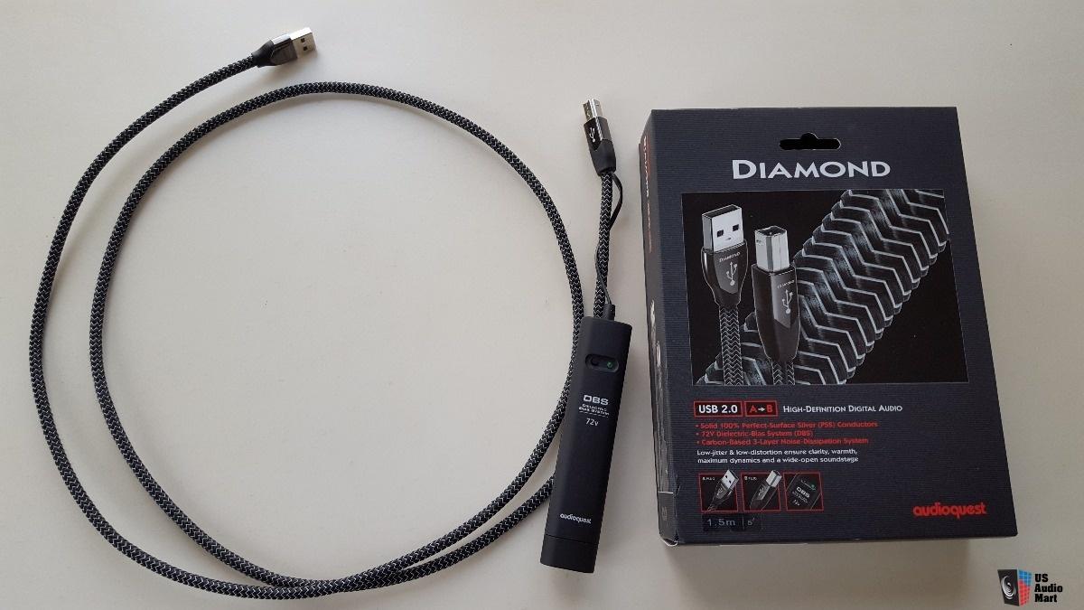 day tin hieu USB AudioQuest Diamond dep