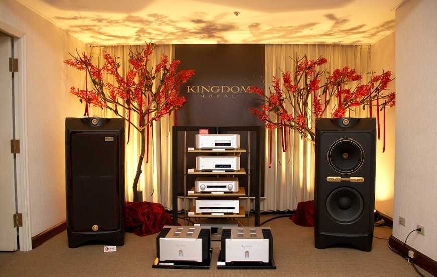 loa Tannoy Kingdom Royal Carbon Black dep