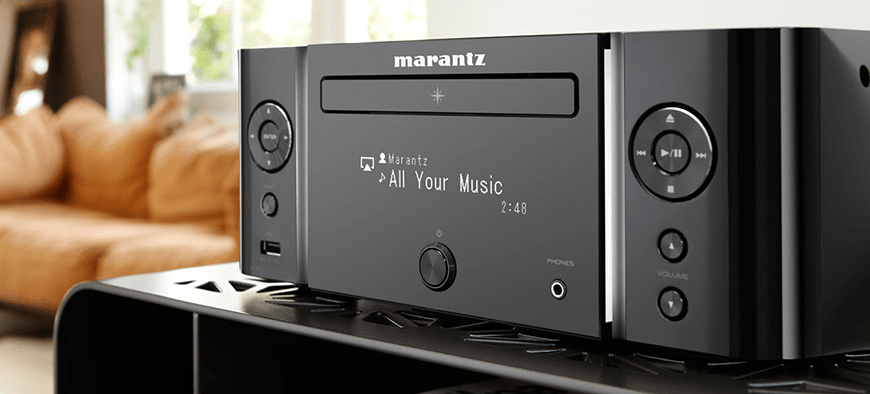 dau CD Receiver Marantz M-CR611 Melody Media Network chuan