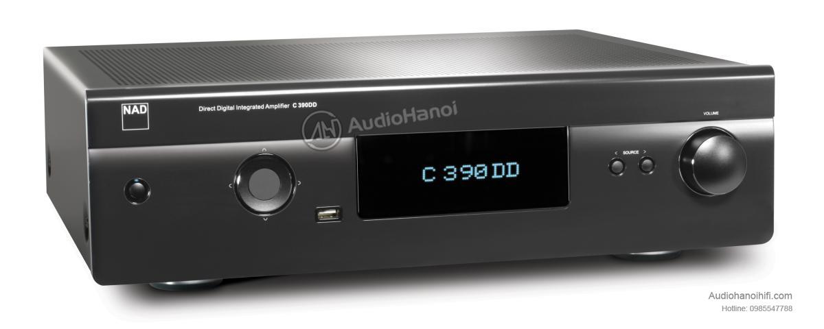 Power ampli DAC NAD C 390DD Direct Digital