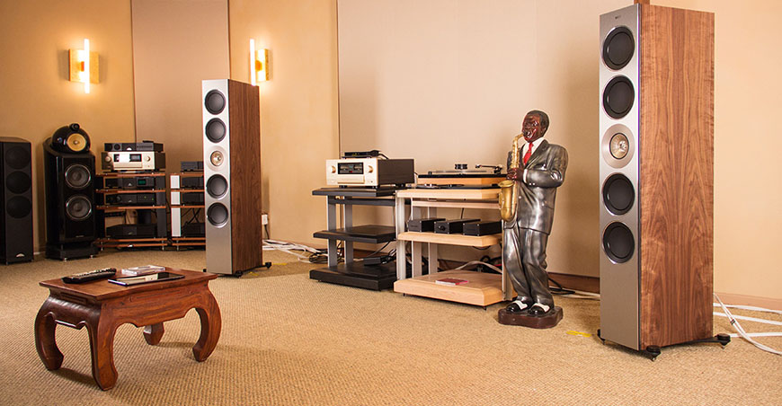 loa KEF Reference 5 tot