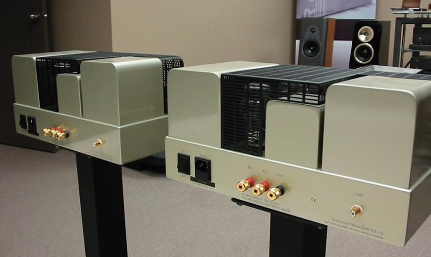 Amplifiers Quad QII-Forty mat sau