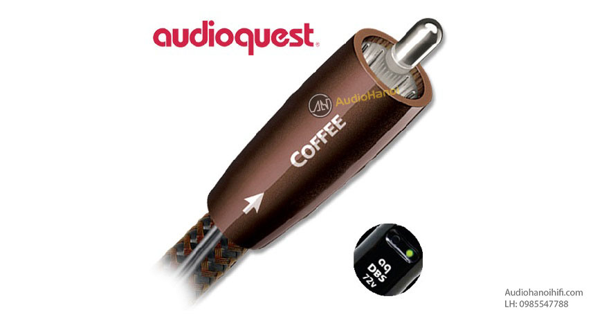 day tin hieu Coaxial AudioQuest Coffee