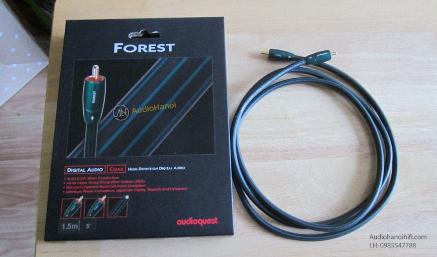 day tin hieu Coaxial AudioQuest Forest chat