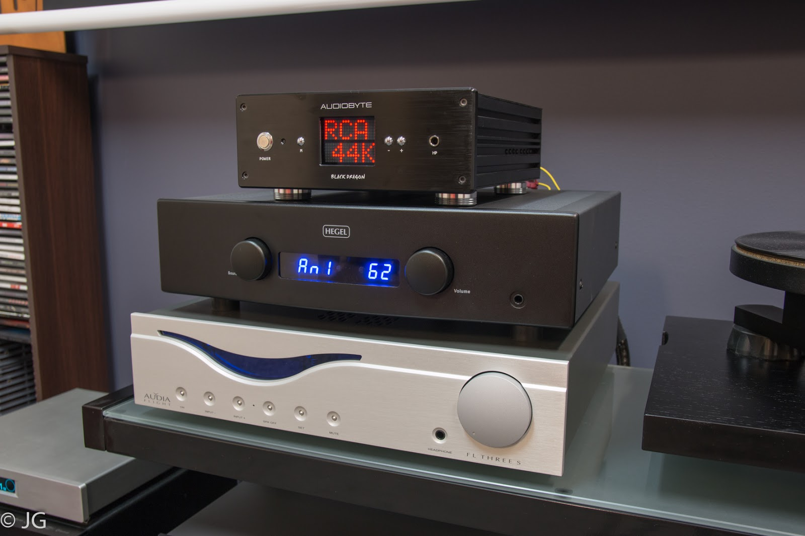 ampli Audia Flight FL Three S chat