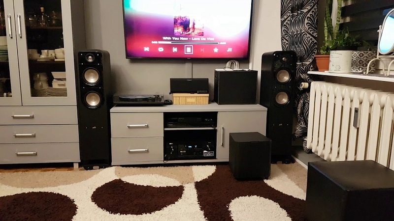 Loa Polk Audio S55e tot
